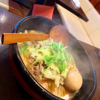 ちゃんぽん(豚・醤油)(オロチョンちゃんぽん さらしな)