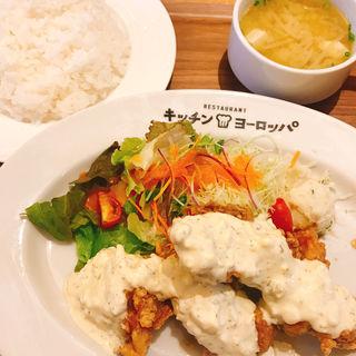 チキン南蛮定食(キッチンヨーロッパ)