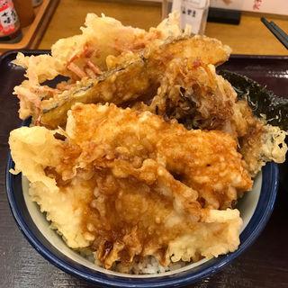 阿波尾鶏天丼(天丼 てんや 人形町店)