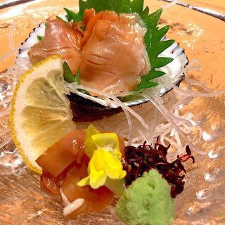 赤貝刺身(漁亭 浜や あすと長町店 )