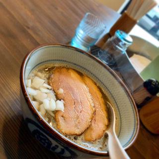 濃厚煮干し(麺や剛)