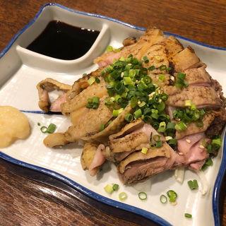 薩摩地鶏赤鶏たたき(竹橋 (タケバシ))
