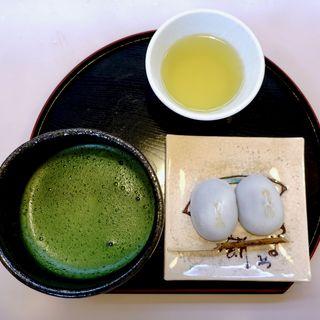 きよめ抹茶セット(喜与女茶寮 )
