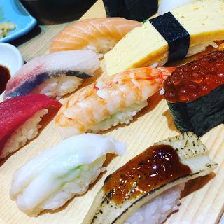 上握り寿司(江戸前 びっくり寿司 つくし野店)
