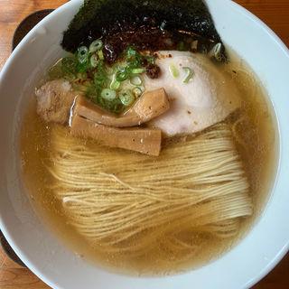 塩そば(中華そば 麺や食堂)