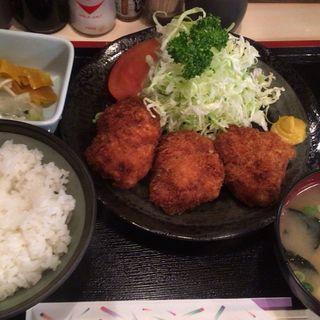 チキンカツ定食(富士 )