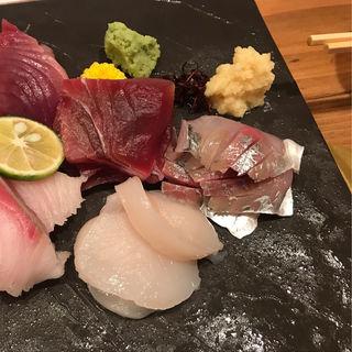 刺身五点盛り(しょう太の寿司酒場)