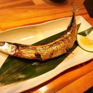 北海道産 生さんまの塩焼き(コンテナ居酒屋 トンキーモンキー 香椎店 )