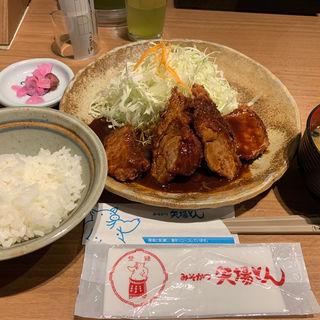 ひれとんかつ定食(矢場とん 東京駅グランルーフ店 )