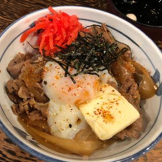 牛力丼 白(東京牛丼 牛のチカラ)