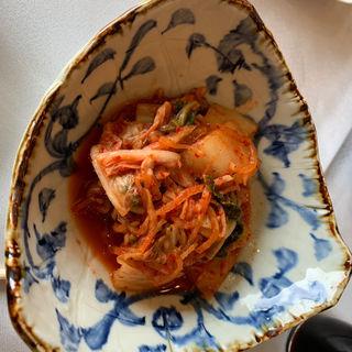 かりんさいの白菜キムチ(仙台クラシックゴルフ倶楽部)