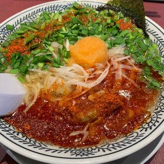 辛肉そば(丸源ラーメン 二又瀬店)