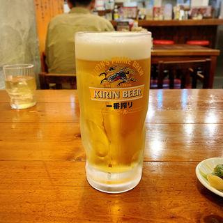 生ビール(広州市場 中目黒店 (コウシュウイチバ))