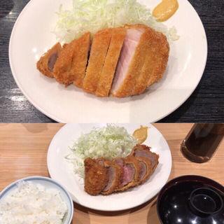 ロースかつ&ヒレかつ (すぎ田 (すぎた))