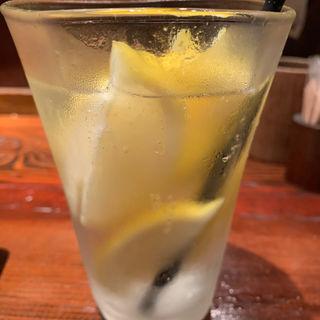 凍結レモンサワー(炙屋 十兵衛 二日町本店 (あぶりや じゅうべえ))