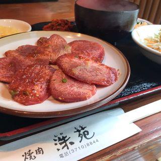 牛タン定食(洙苑 (シュエン))