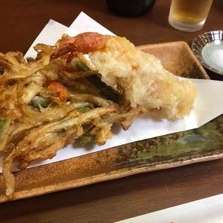 天ぷら(京うどん纏)