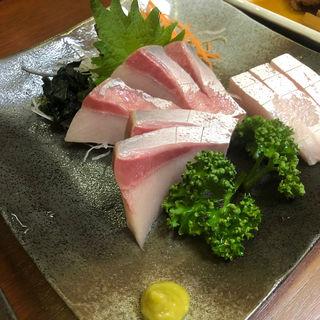 ぶり刺身(京うどん纏)