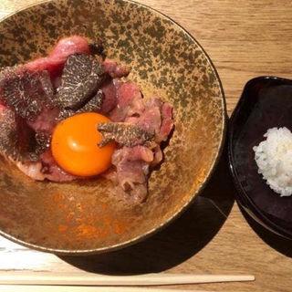 トリュフすき焼き(肉割烹 KINTAN コレド室町)