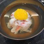松葉蟹の真薯椀
