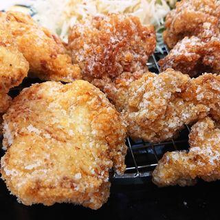 唐揚げ定食(8ヶ)(鶏三和 ラゾーナ川崎店)