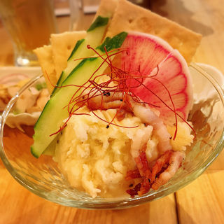 ノダニクのポテトサラダ(肉バル ノダニク)