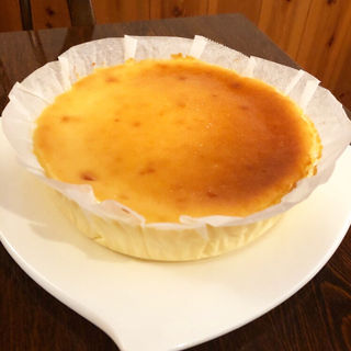 チーズケーキ(サラダの店 サンチョ)