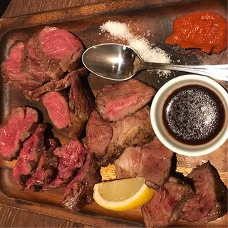 肉盛り ビステッカプレート(VILLA BIANCHI 丸の内OAZO店)
