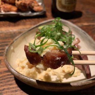 あぶり煮豚のポテトサラダ(板蕎麦 山灯香 (いたそばさんとうこう))