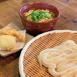 釜揚げカレーつけ麺(釜揚げうどん専門店もと )