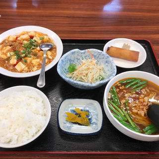 麻婆豆腐ランチ(台湾料理 龍祥)