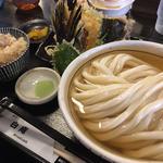 ひやひやの天ぷらセット