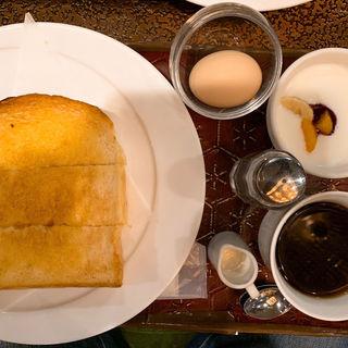 トーストセット(オクダローストカフェ (Okuda Roast Cafe))
