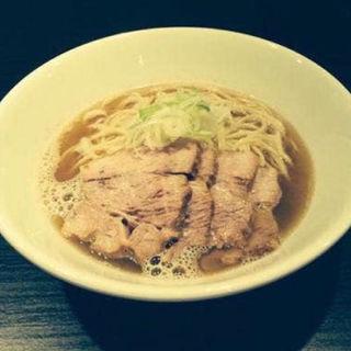 肉そば大スープ増し(自家製麺 伊藤 銀座店)