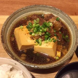 名物 肉豆腐定食