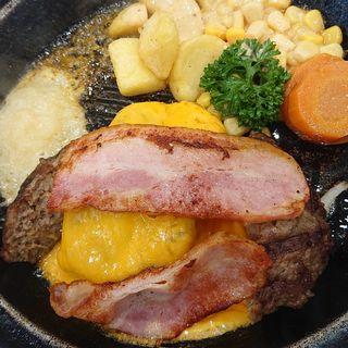 ベーコンチーズハンバーグ(武蔵ハンバーグ )