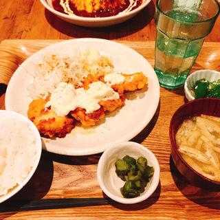 チキン南蛮定食(#602 CAFE&DINER 福岡天神 (ロクマルニ カフェアンドダイナー))