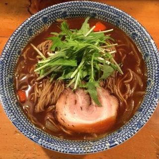 カレー中華そば(蕎麦麺)(らーめん さんさん  )