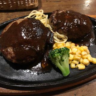 チーズハンバーグ(ふらんす亭 横浜西口パルナード店 )