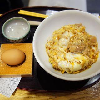 うちのたまごの親子丼(うちのたまご JR博多駅構内直売所)