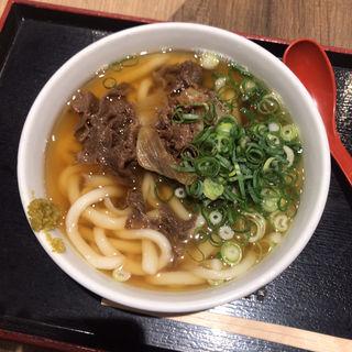 肉うどん(因幡うどん 福岡空港店)