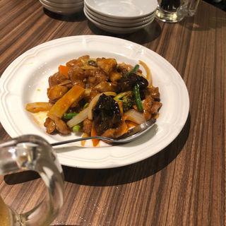 鶏肉のピリ辛みそ炒め(東京餃子軒)
