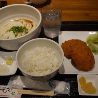 俺の肉じゃがコロッケセット(JUN大谷製麺処 (ジュンオオタニセイメンショ))