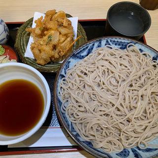 野菜かき揚げ天そば(四谷 政吉 ( 【旧店名】政吉そば))