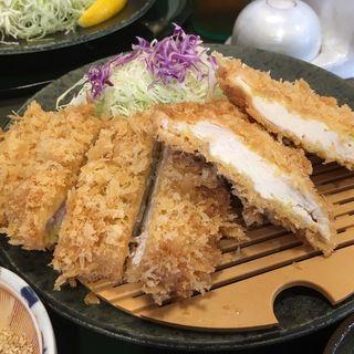 ハーフロースと地鶏かつランチ(楽一楽座 桶狭間店 )