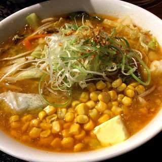 コーンバター拉麺(けやき)