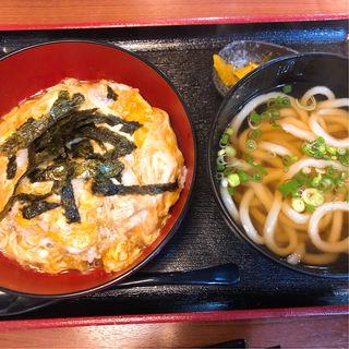 玉子丼セット(八るき )