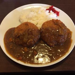 ミンチカツカレー(待久寿 )