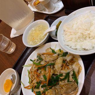 豚肉の生姜焼き(栄華楼 グランドセントラルタワー店 )