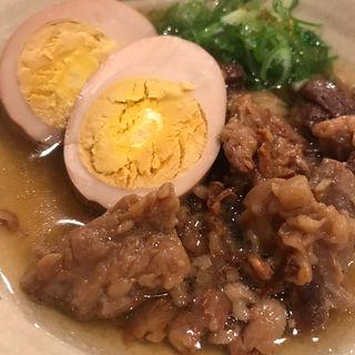 牛すじと玉子(おでんムロ)